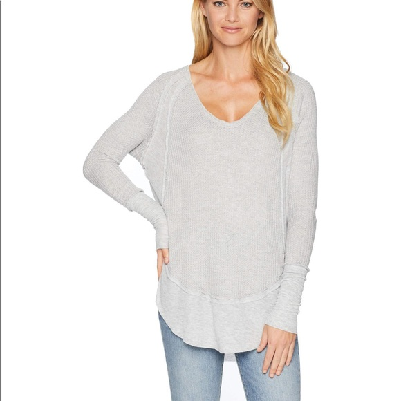2af69a500a Free People Tops - Free People Catalina Thermal Long Sleeve Shirt